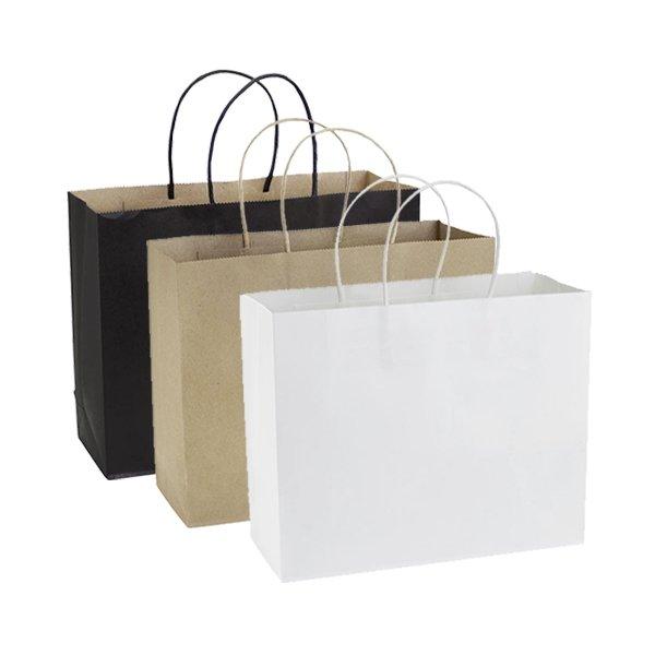 Bolsas de Papel 30x25x10cm (mínimo 200u)